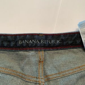 Banana Republic Shorts - Banana Republic Rolled Denim Jean Short Size 31